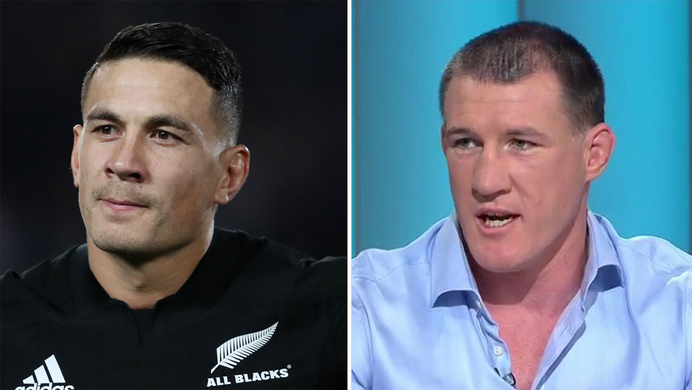 Sonny Bill Williams and Paul Gallen.