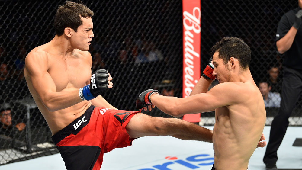 Peruvian Humberto Bandenay wins debut with brutal knockout at UFC Fight Night Mexico City
