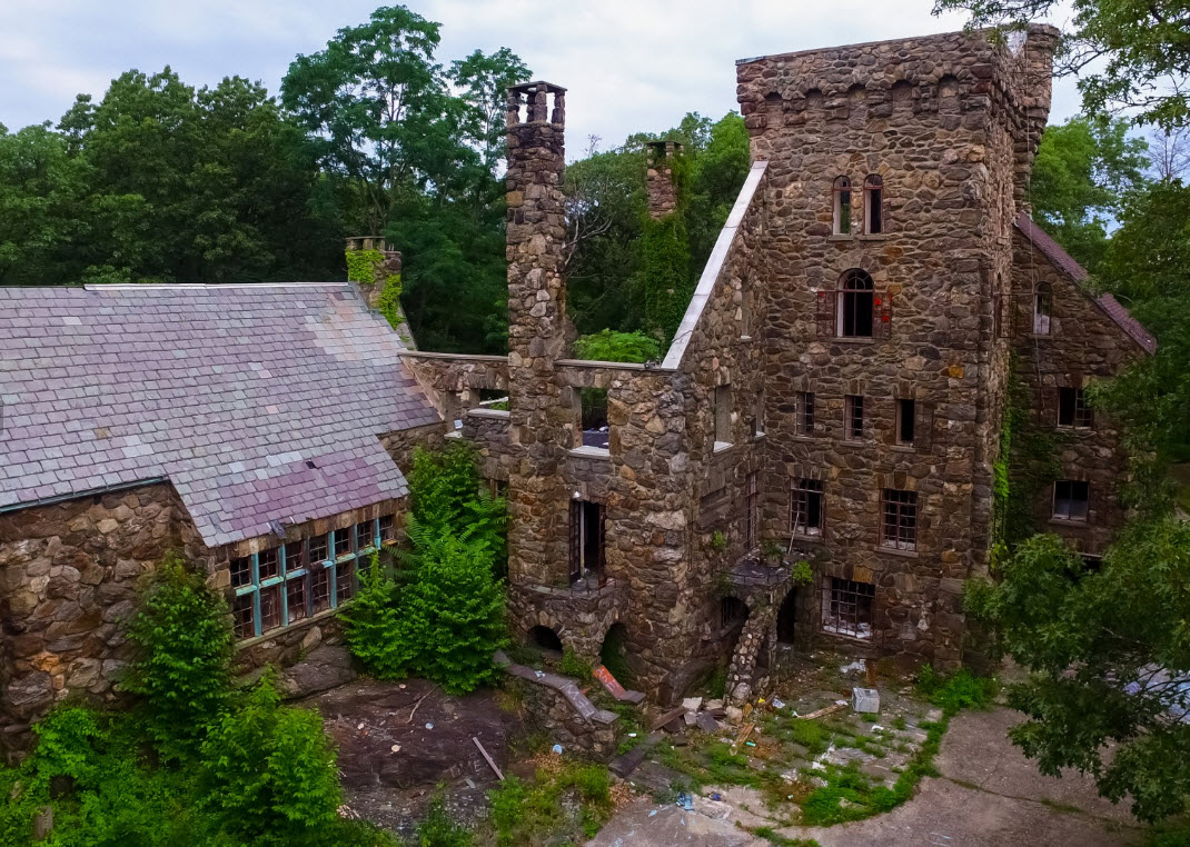 Derelict castle in New York forest up for $4.7 million