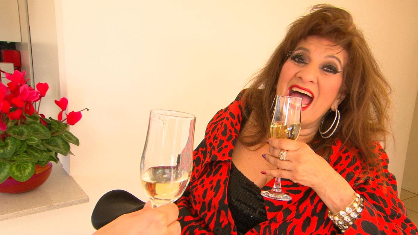 "Enjoying champagne again was a ""milestone""."