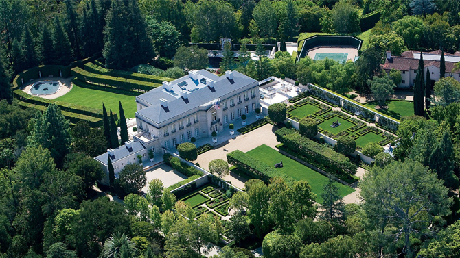 $350M Bel Air estate is the nation's most expensive listing