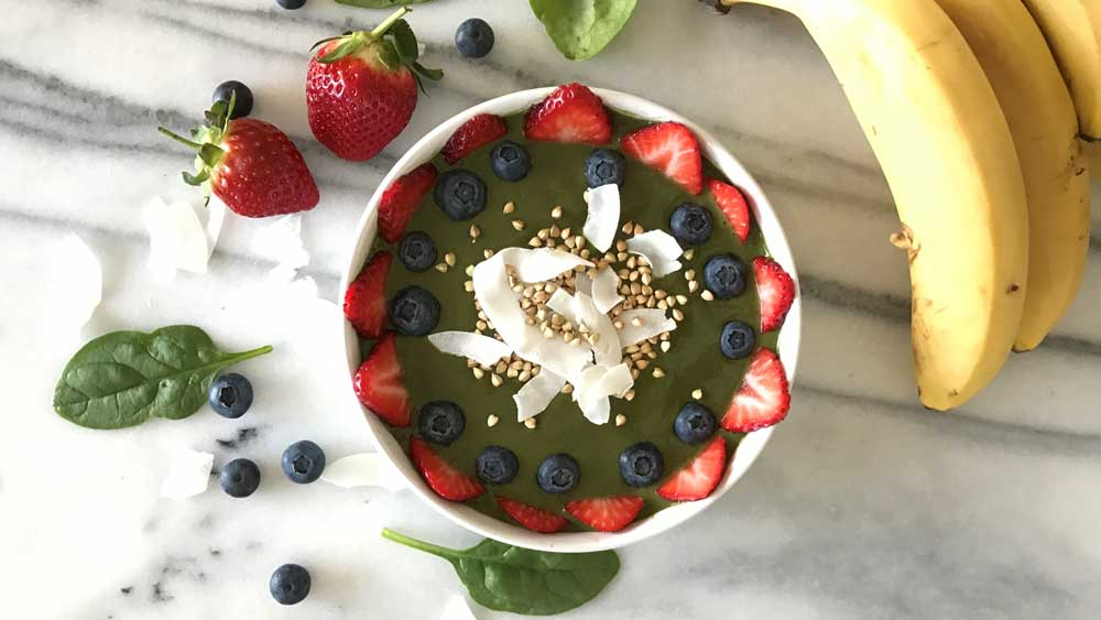 Super smoothie bowl