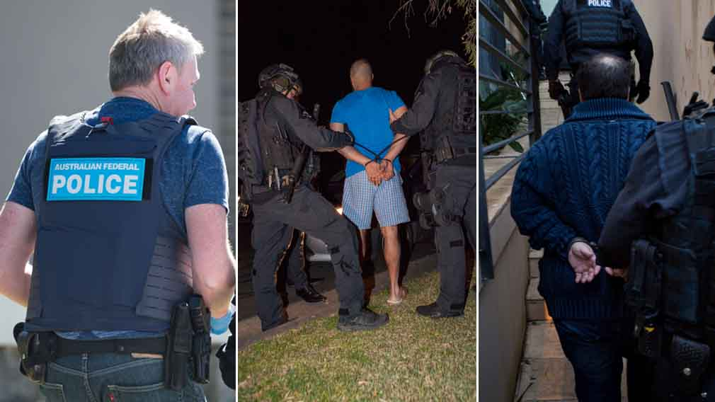 In addition to raids in Dubai, a simultaneous police operation was also executed in Sydney. (Supplied)