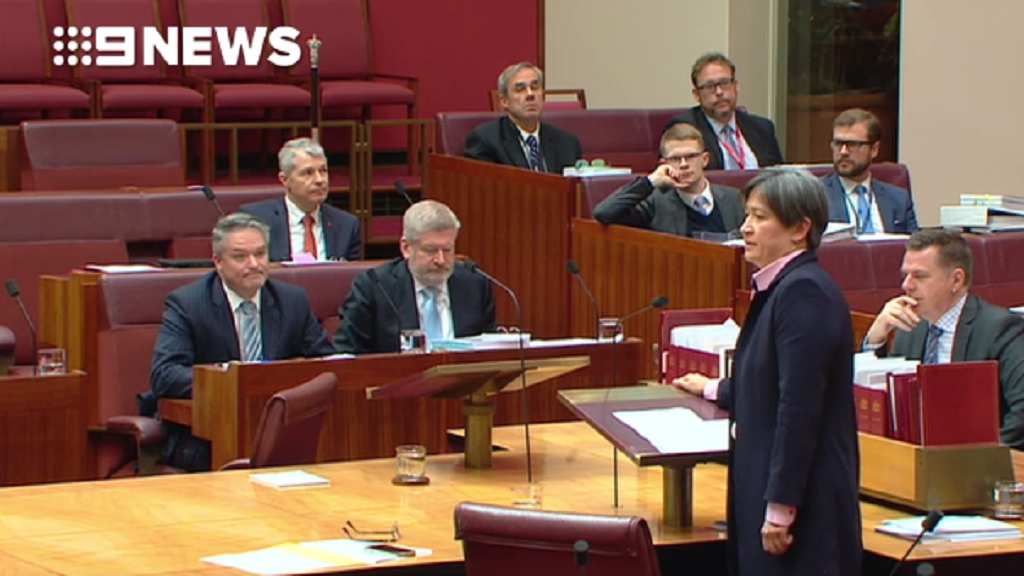 Penny Wong's emotional speech in defence of gay couples and their kids