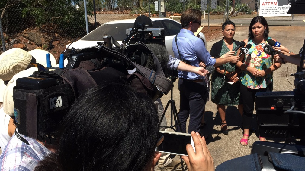 NT's Health Minister Natasha Flyes spoke about the new restrictions this afternoon. (9NEWS)