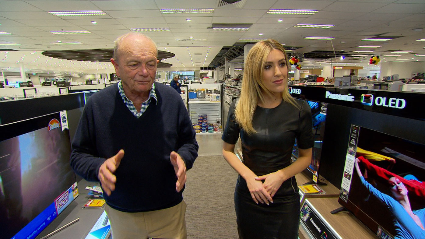 Harvey Norman's electronics specials are on Thursday-Sunday.