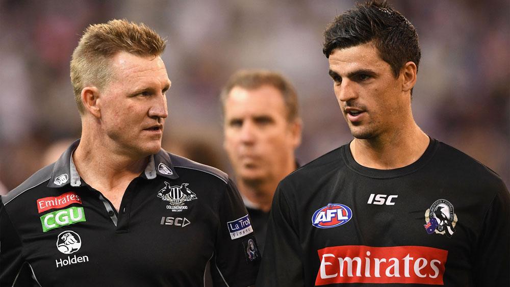 Collingwood captain Scott Pendlebury backs new AFL deal for coach Nathan Buckley