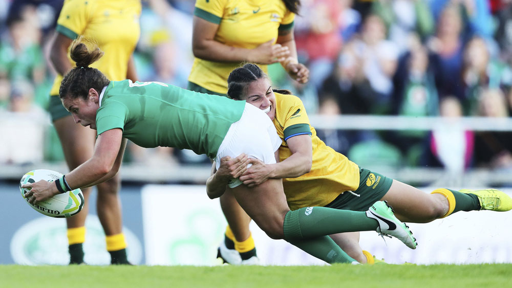 Wallaroos lose to Ireland in opening match of women's rugby union World Cup