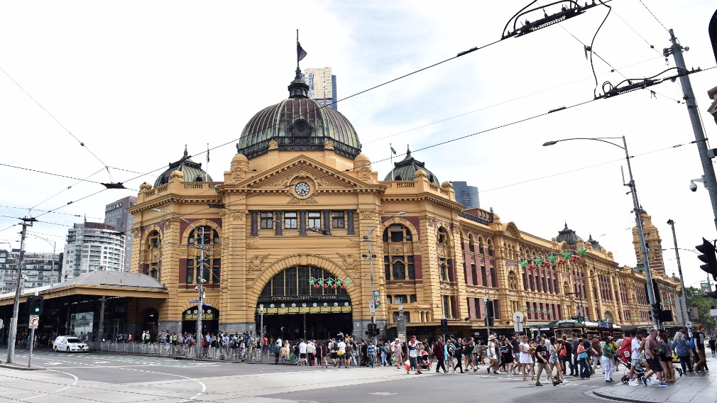 Flinders Street was ranked among one of the most dangerous stations.