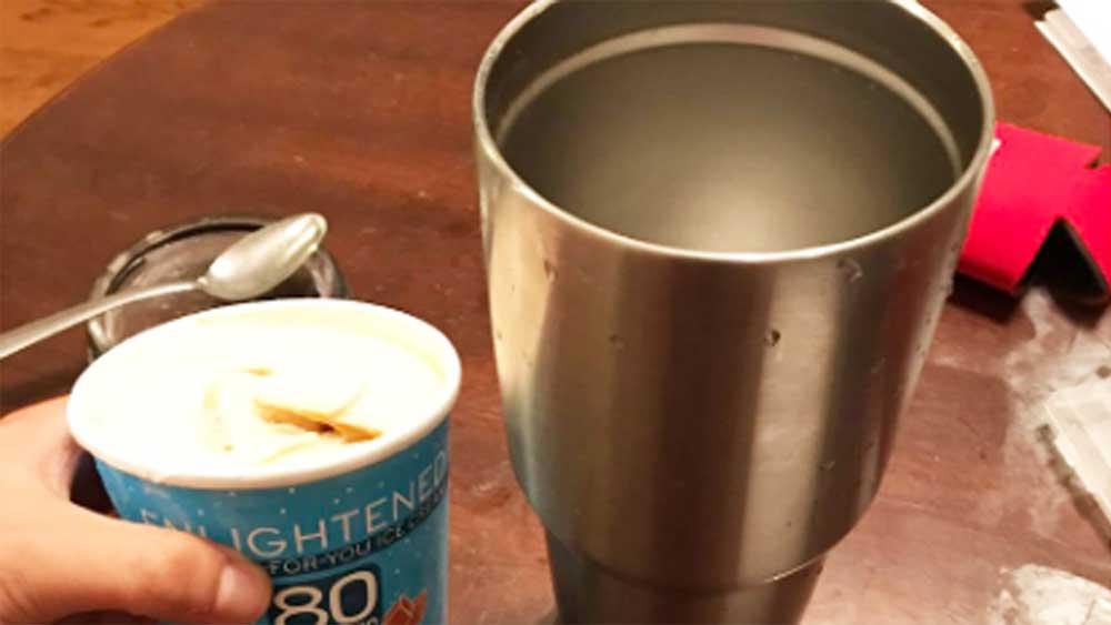 Hero solves universal ice-cream melting dilemma, wins Twitter