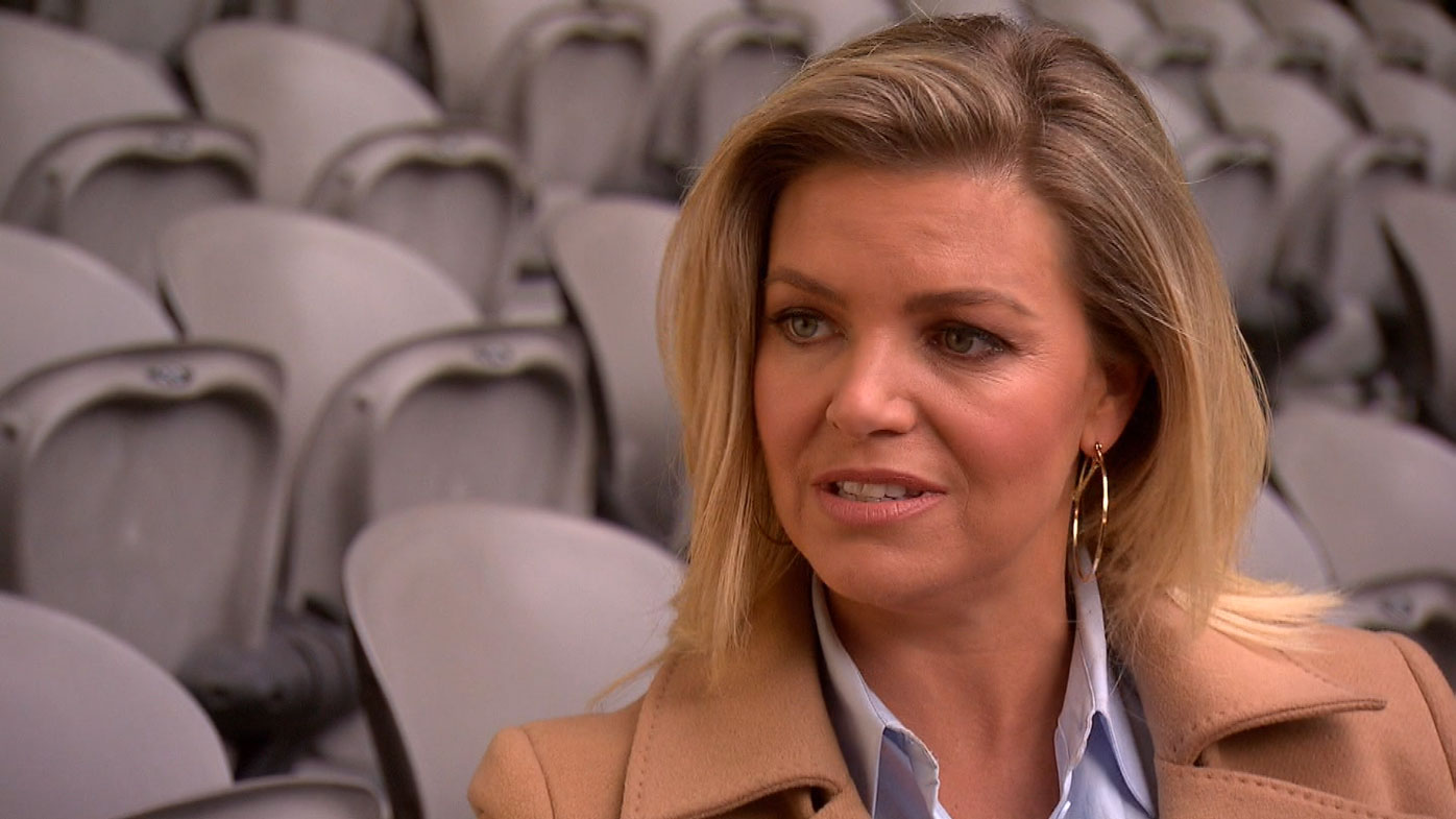 Co-host Rebecca Maddern says McGuire could learn from hosting with a woman.