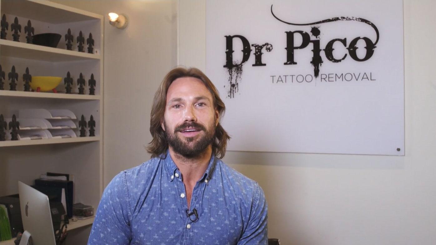 Dr Kolodzej runs the Dr Pico tattoo removal clinic in Sydney.