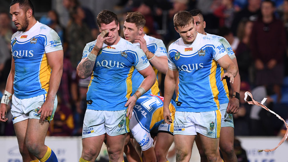The Gold Coast Titans' future has been called into question. (AAP)