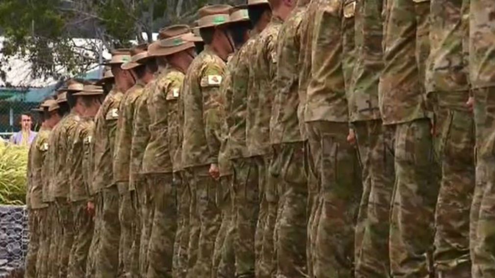 Australian Army turns its back on male recruits