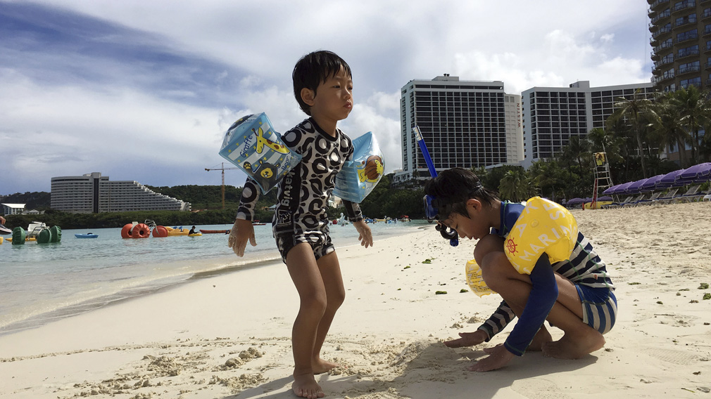 Life goes on in Guam as nuclear tension builds