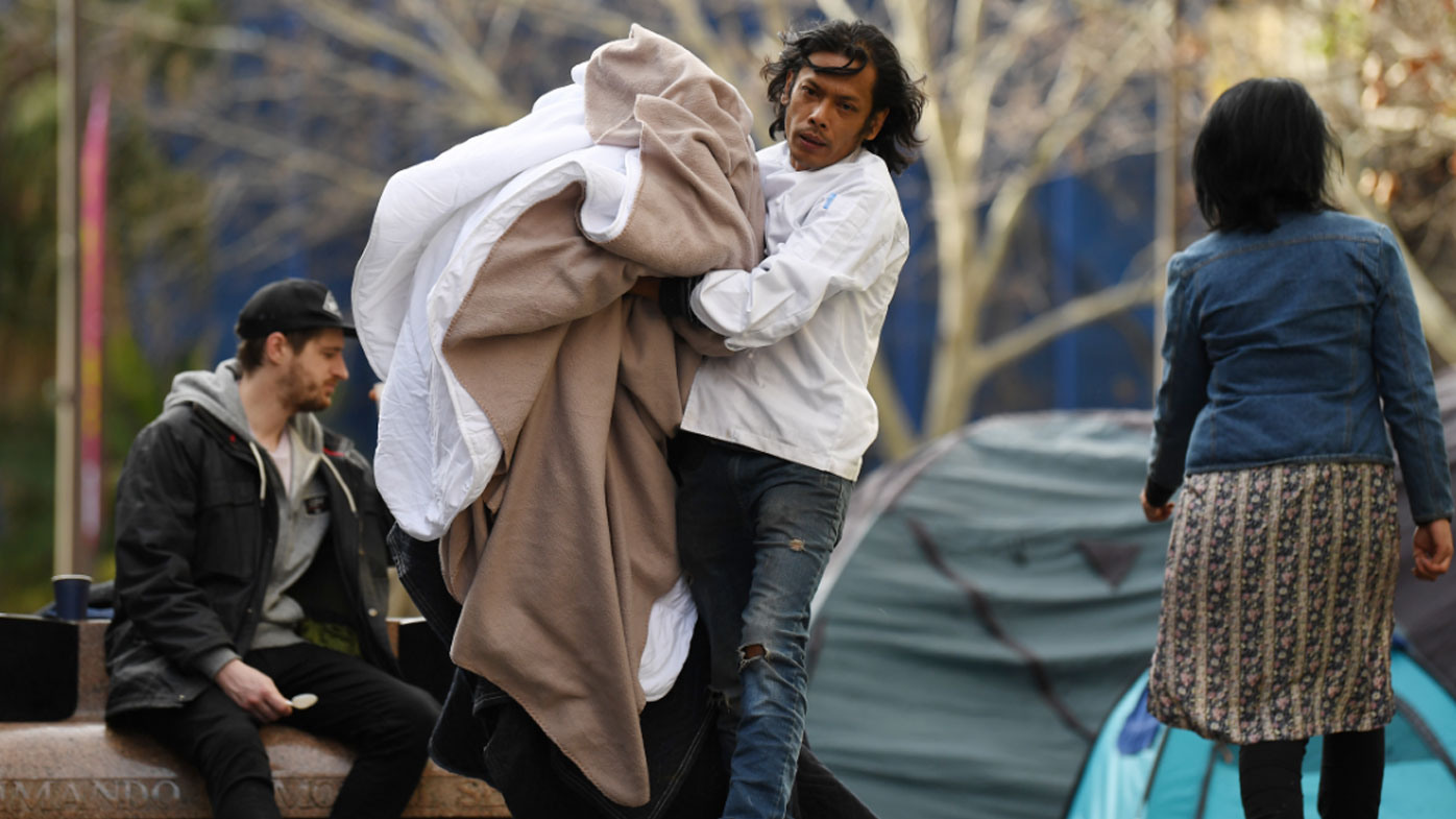 Police to tear down Sydney's tent city