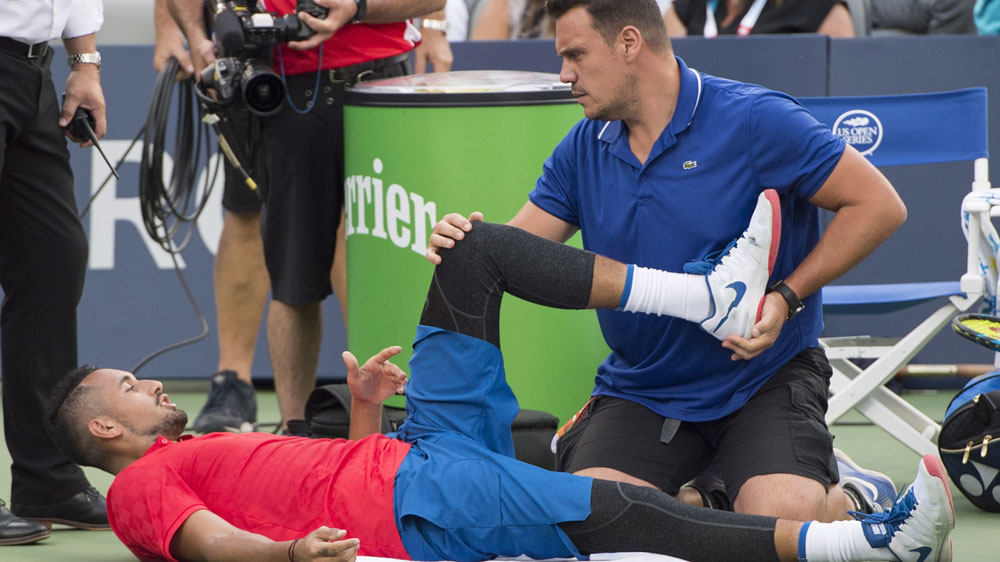 Nick Kyrgios falls to Alexander Zverev at Rogers Cup in Montreal