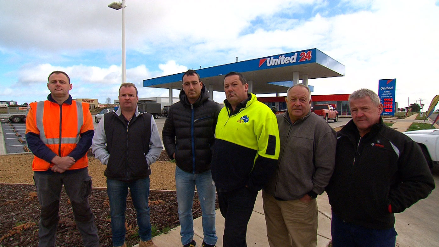 A group of tradies are uniting after they were allegedly ripped off.