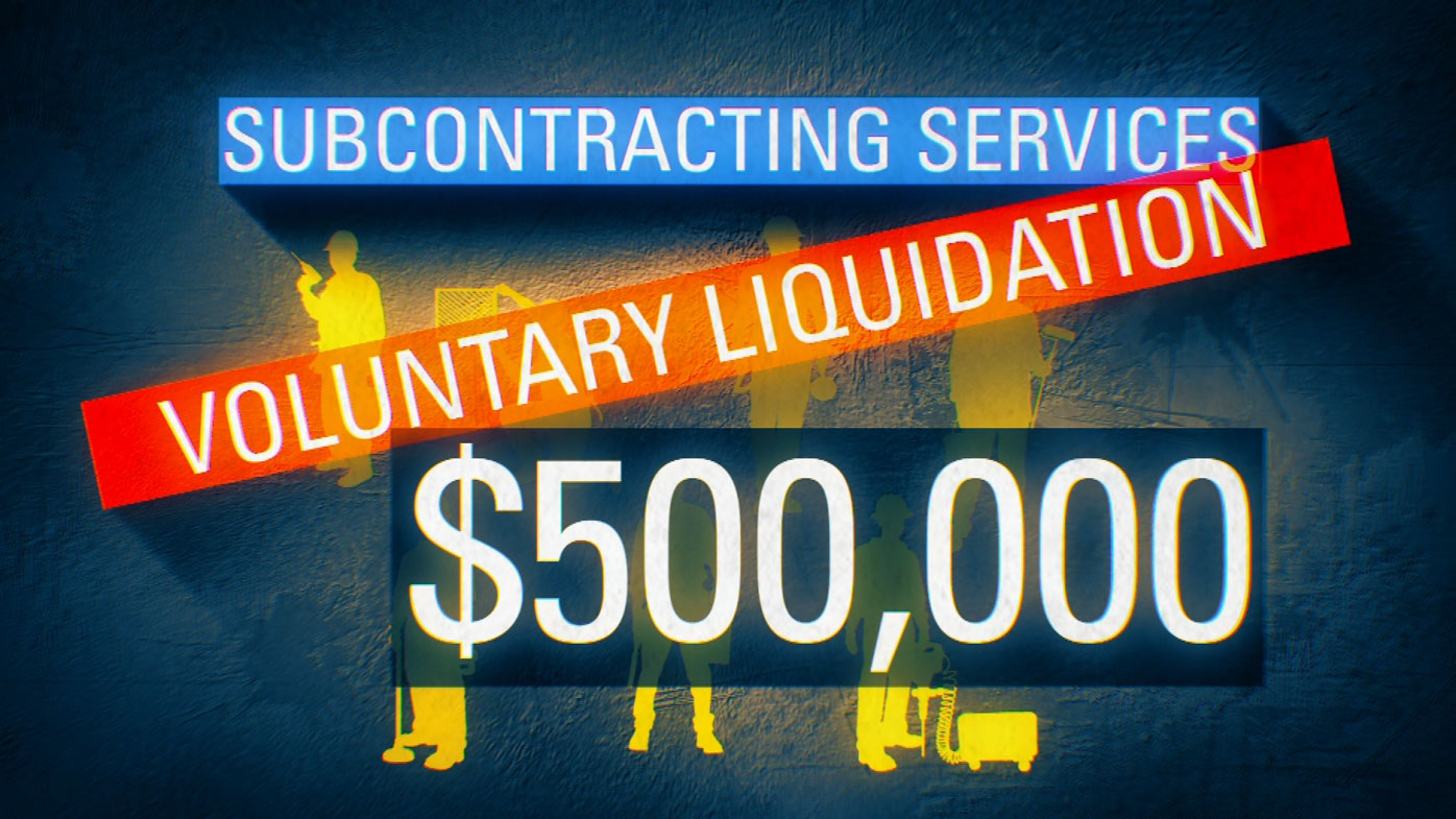 Subcontracting Services is in voluntary liquidation.