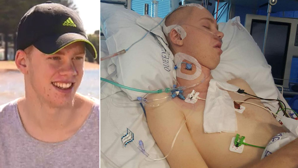 Teen felled at McDonald's thankful to be alive after 16 days in coma