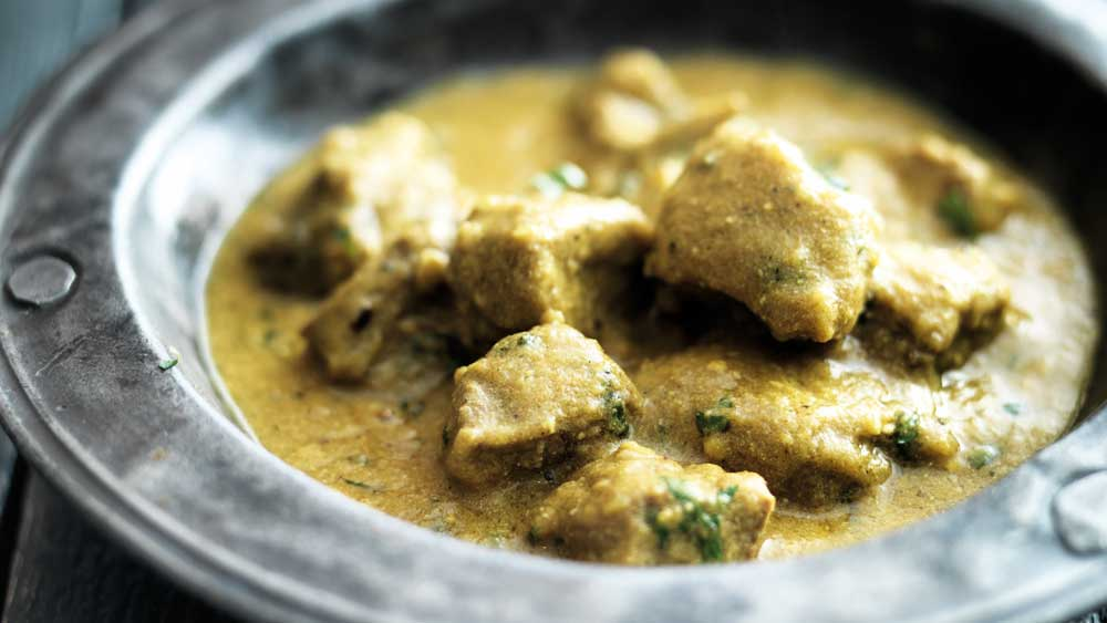 """Recipe: <a href=""""http://kitchen.nine.com.au/2017/08/10/14/58/lamb-with-cardamom-and-yogurt"""" target=""""_top"""">Lamb with cardamom and yogurt recipe</a>"""