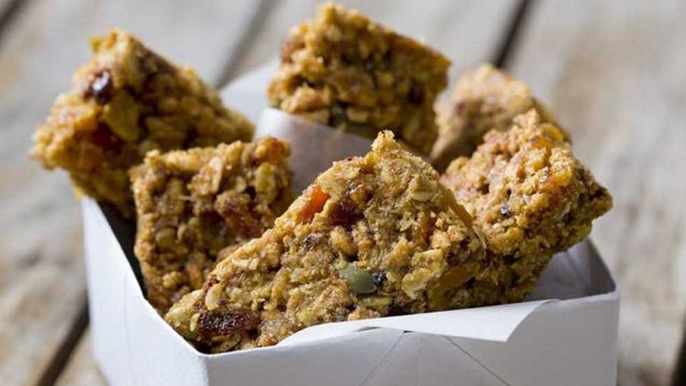 Easy and healthy breakfast bars