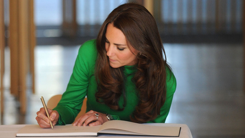 This is why Kate Middleton is banned from signing autographs