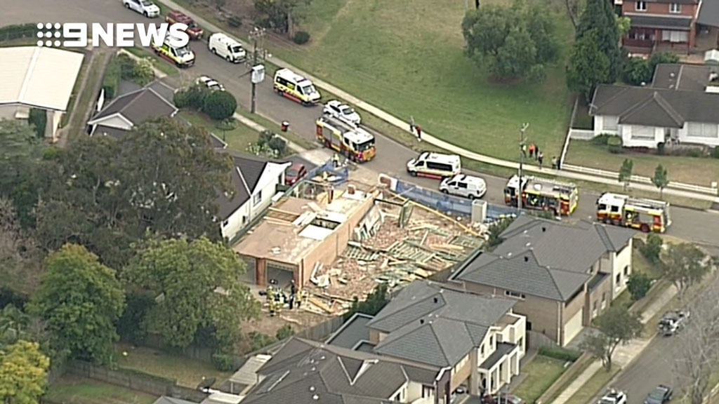 Sydney weather: One man dead, another injured after separate wall collapses