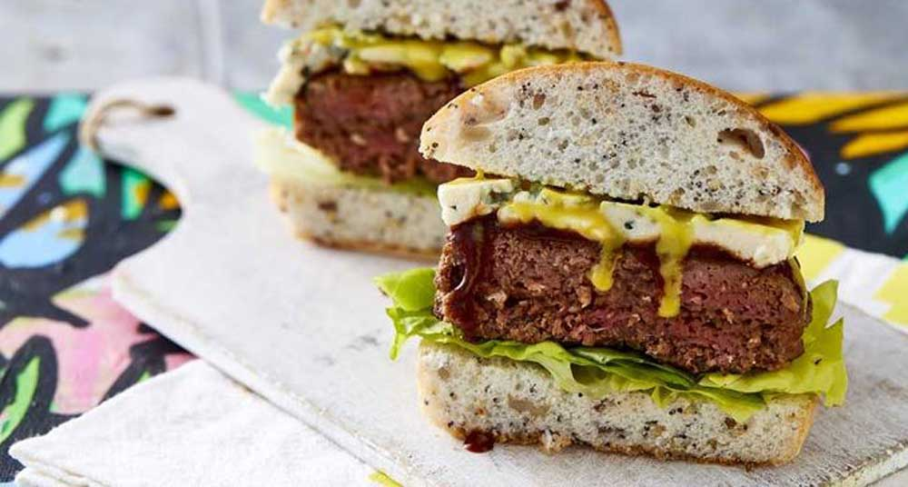 Chur Burger's beef and blue burger recipe