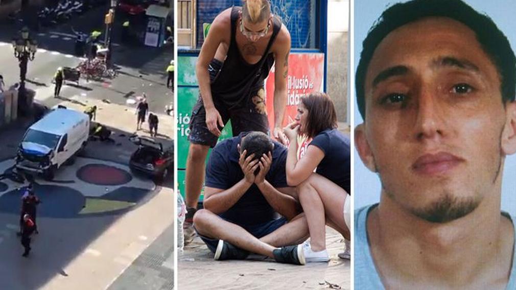 Thirteen killed as van drives into Barcelona crowd