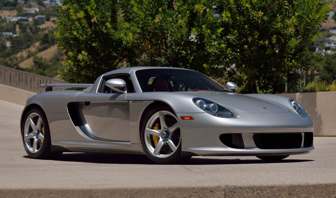 2004 Porsche Carrera Gt With Just 40km On The Clock To Fetch 125