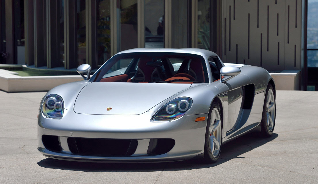 2004 porsche carrera gt with just 40km on the clock to fetch million. Black Bedroom Furniture Sets. Home Design Ideas
