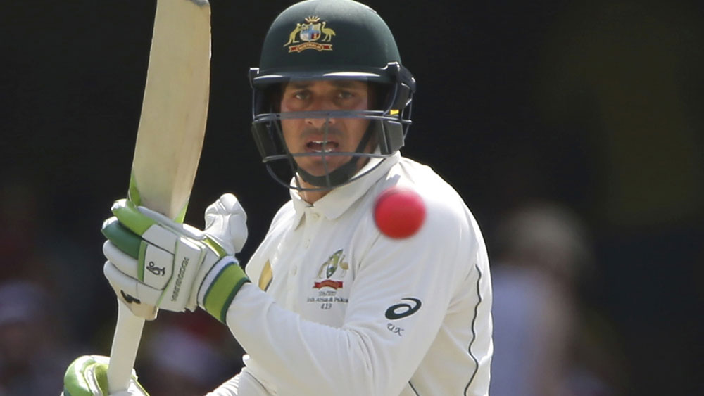 Usman Khawaja is set to bat at No.3 in the first Test against Bangladesh. (AAP)