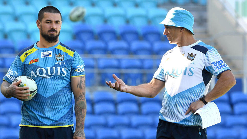 Gold Coast hooker and coach Neil Henry. (AAP)
