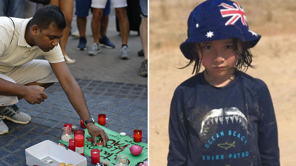 Sydney boy still missing after Barcelona attack