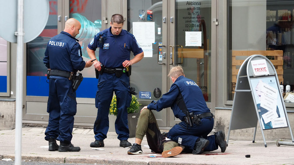 One dead, eight injured in Finland stabbing spree