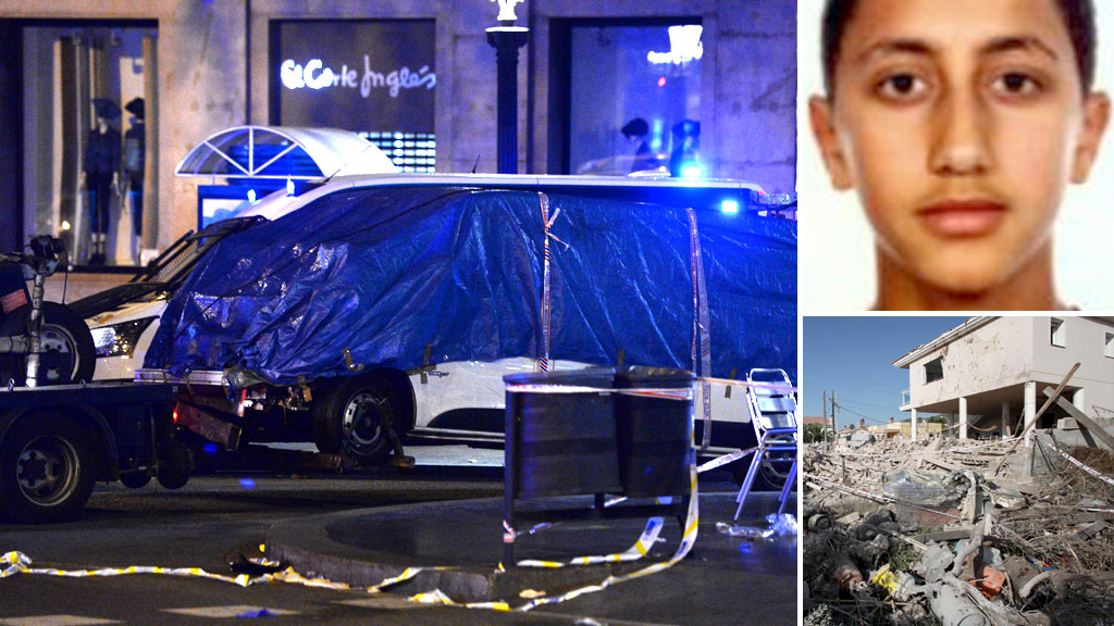 Barcelona terrorists had 'planned even bigger attack'