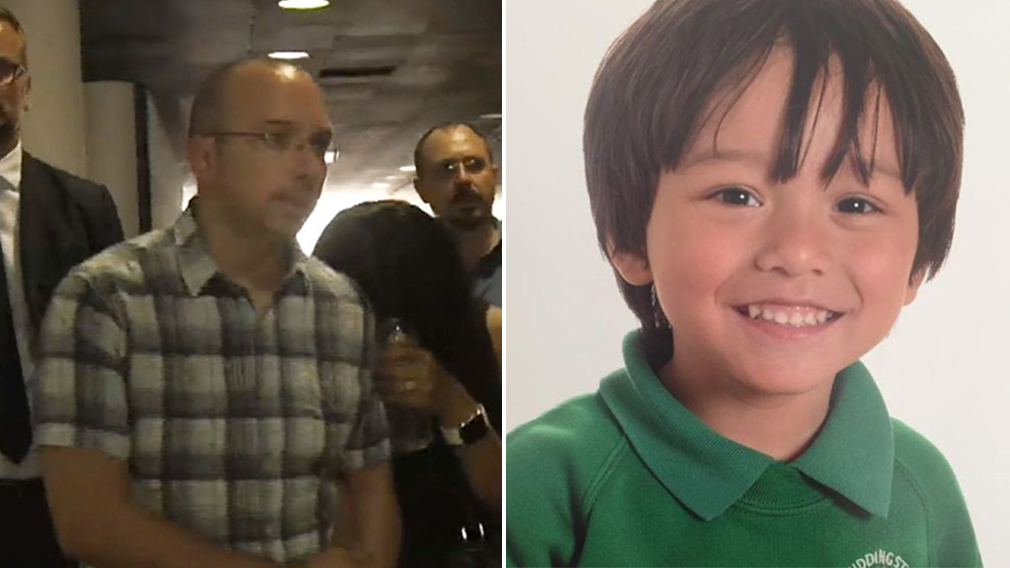 Father of missing Australian boy Julian Cadman arrives in Barcelona