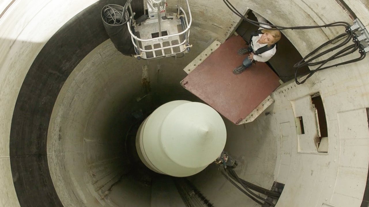 Hundreds of intercontinental ballistic missiles are buried across the US. (60 Minutes)