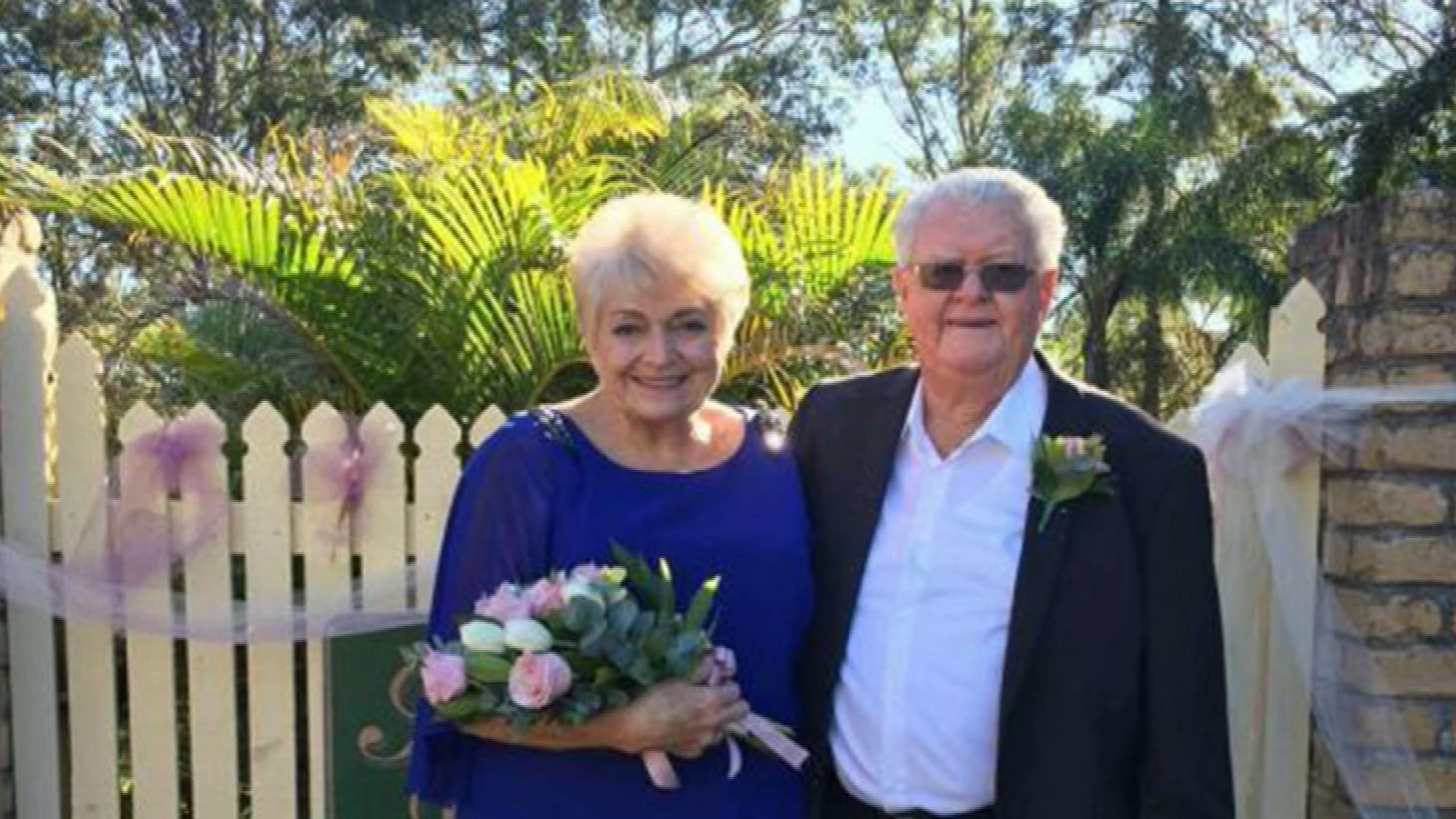 Pam and Ron Sinclair first met in their early 20s when they were neighbours in Strathpine. (Supplied)