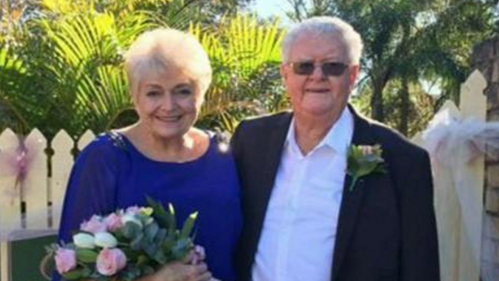 Couple marry 54 years since first meeting as neighbours
