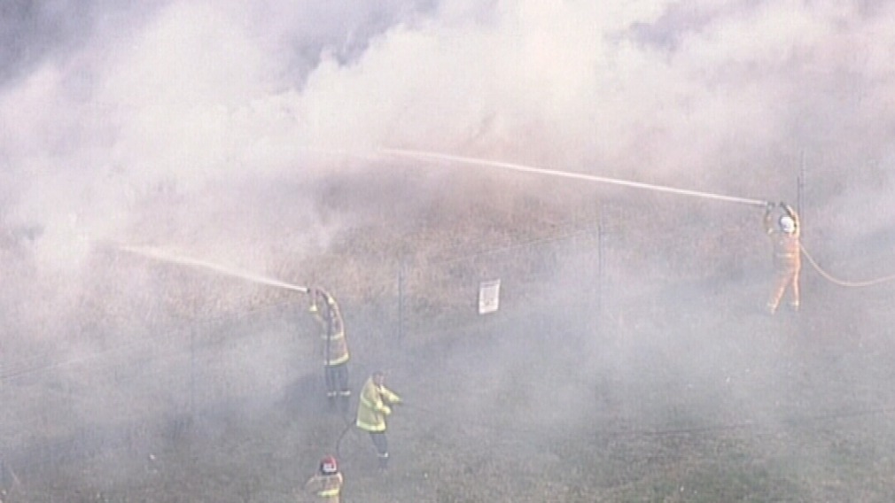 Numerous fire crews are at the scene. (9NEWS)