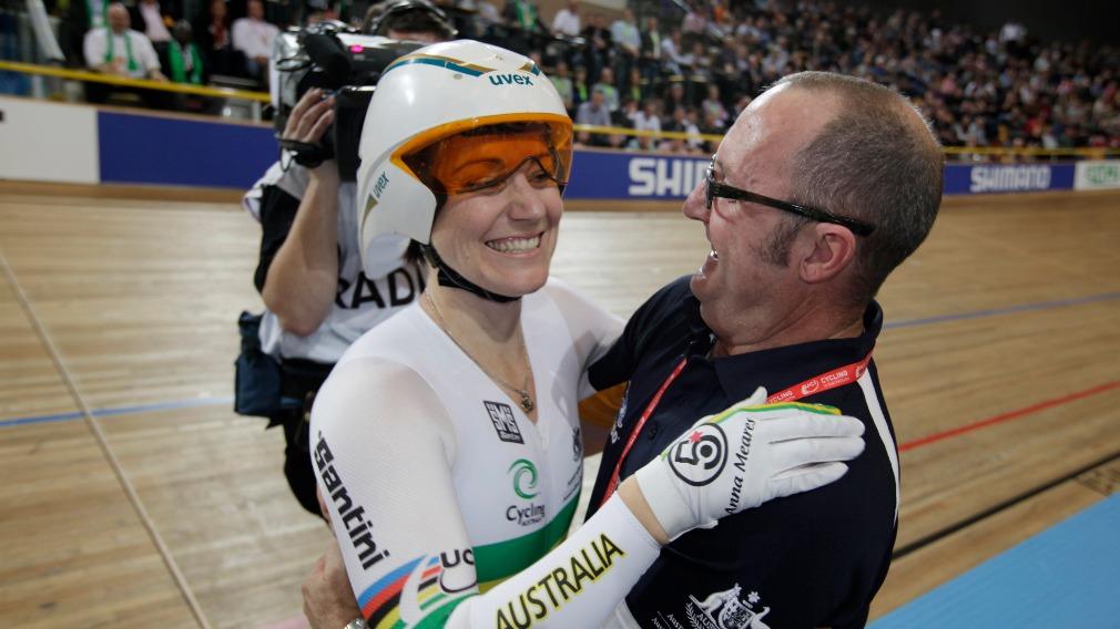 Anna Meares' cycling coach Gary West dies aged 57