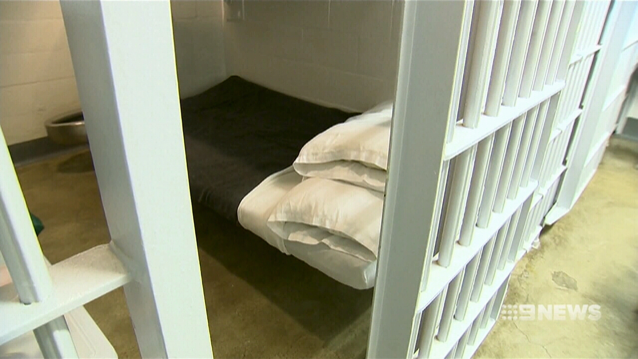 A cell inside Seal Beach prison. (9NEWS)