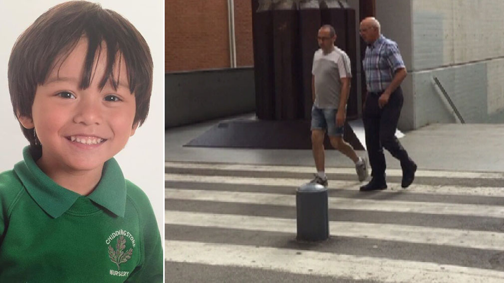 Dad of missing Sydney boy Julian Cadman visits Barcelona hospital