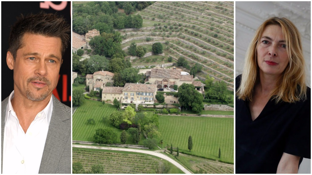French designer goes head to head with Brad Pitt over chateau dispute