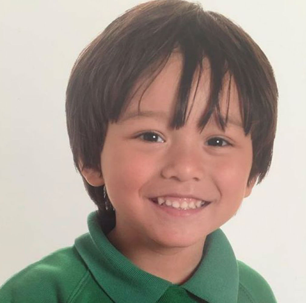 Seven-year-old Julian Cadman was separated from his mother during the Barcelona terror attack. (AAP)