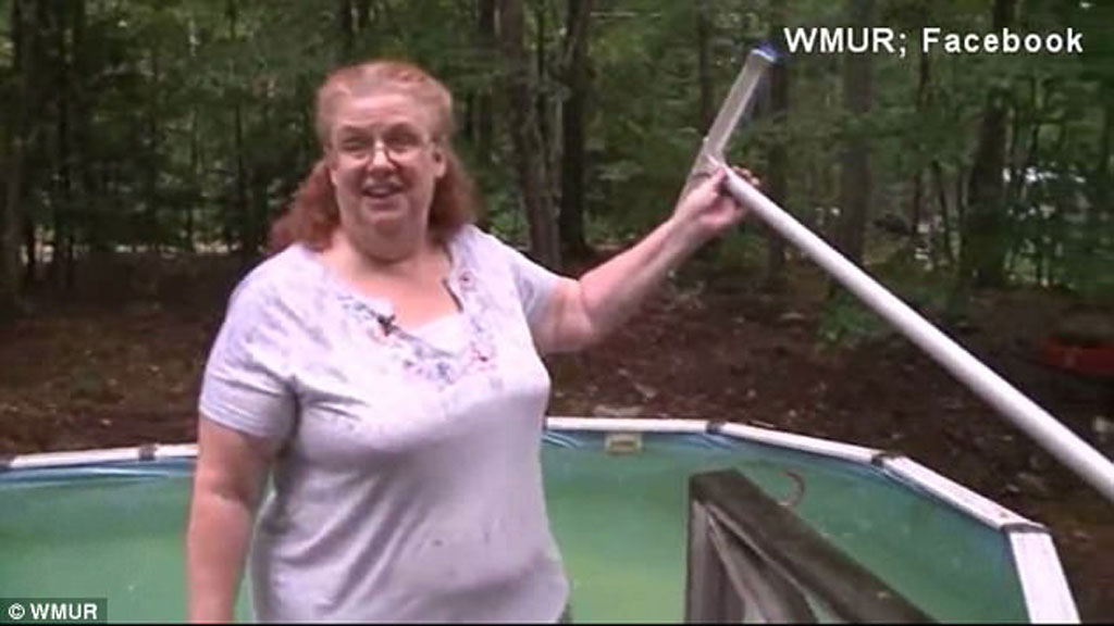 Woman Stuck In Pool Is Rescued Thanks To Facebook 9honey