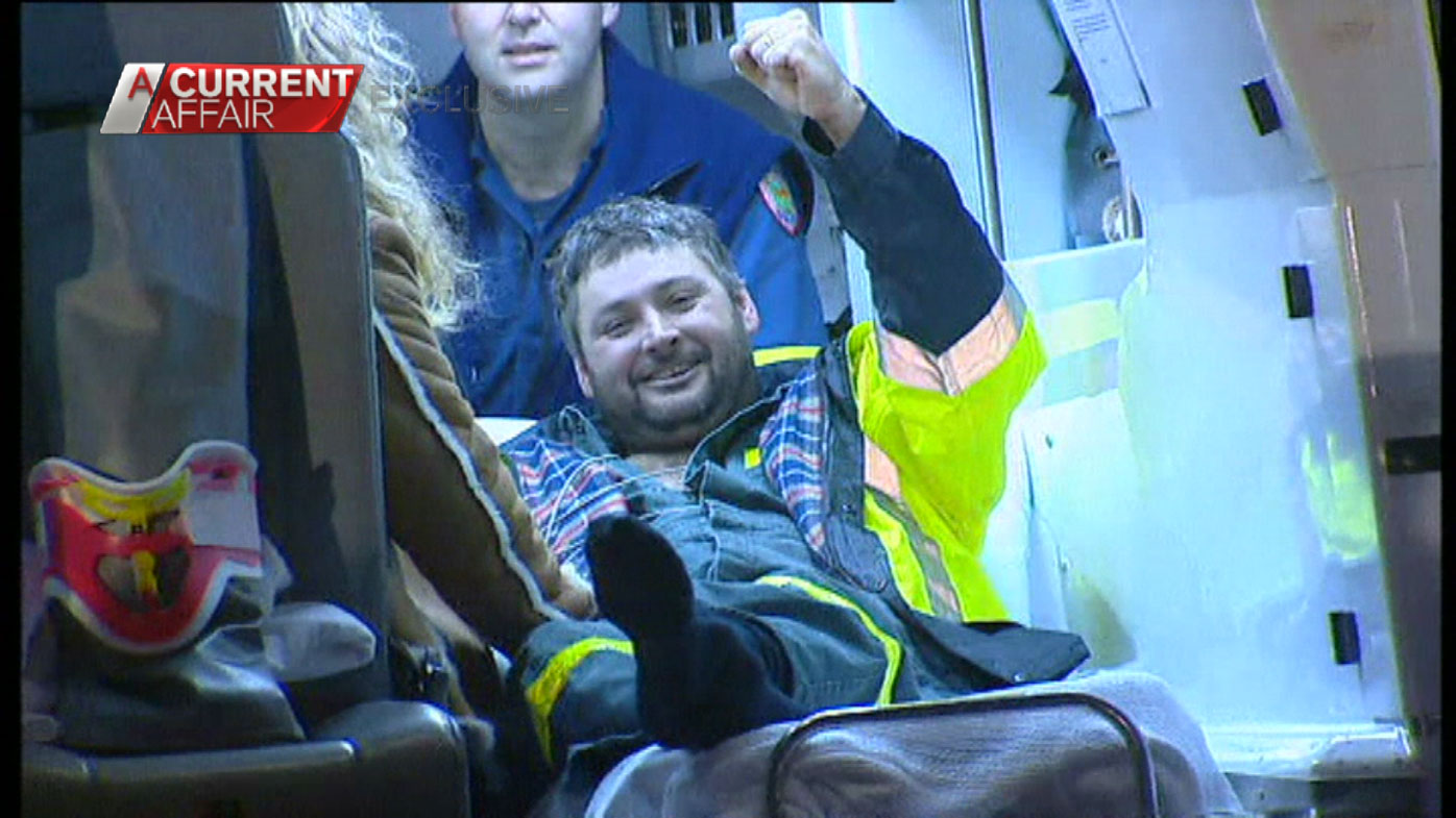 The miners were rescued after 14 days underground.