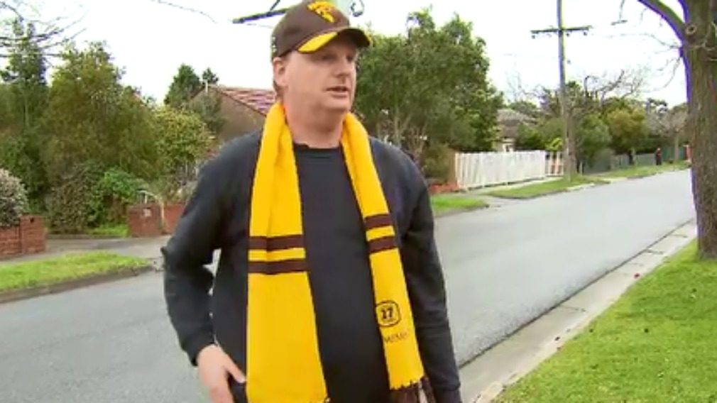 Volunteer firefighter targeted by gang while returning from AFL match